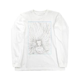 髪長姫の開放 Long sleeve T-shirts