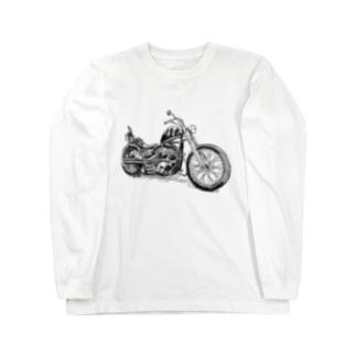 ハーレーロングTシャツ Long sleeve T-shirts