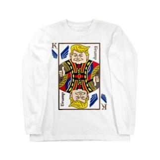 とらんぷさんのとらんぷてぃーしゃつ【多色】 Long sleeve T-shirts