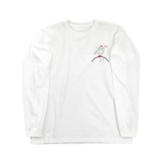 スーパーモデルゴリちゃん。 Long sleeve T-shirts