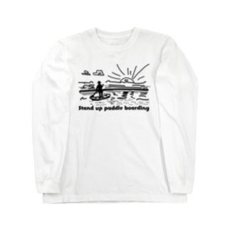 パドルボード Long sleeve T-shirts