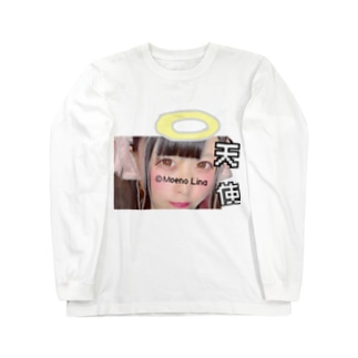 10月限定デザイン天使 Long sleeve T-shirts