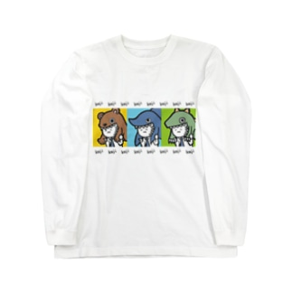 カジリーマン_2 Long sleeve T-shirts