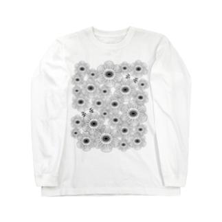 ウパかくれんぼ(アネモネ) Long sleeve T-shirts
