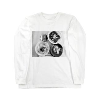 中華が食べたい日 Long sleeve T-shirts
