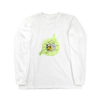 Bento in 胃袋 オニギリ Long sleeve T-shirts