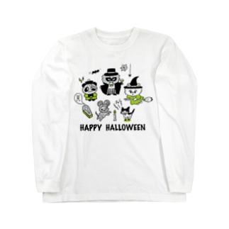 HAPPY HALLOWEEN Long sleeve T-shirts