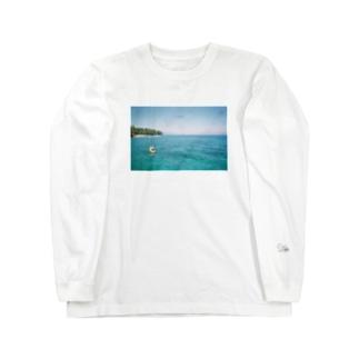 レイクタホ Long sleeve T-shirts