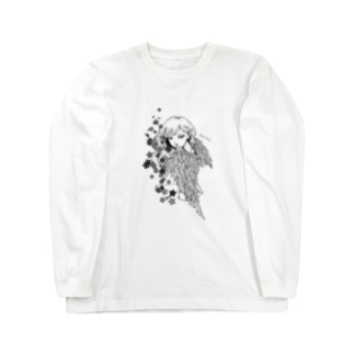 堕天使ちゃん2 Long sleeve T-shirts