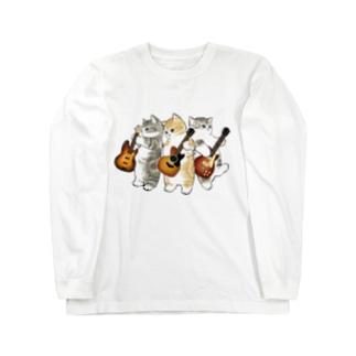 君のために歌う「ニャー」 Long sleeve T-shirts