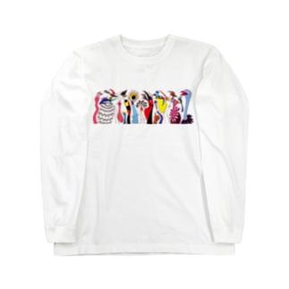トリダラケ Long sleeve T-shirts