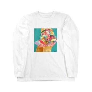 スカート Long sleeve T-shirts