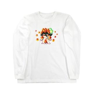 いくらちゃん。 Long sleeve T-shirts