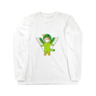 ブタトギス(天然記念豚) Long sleeve T-shirts