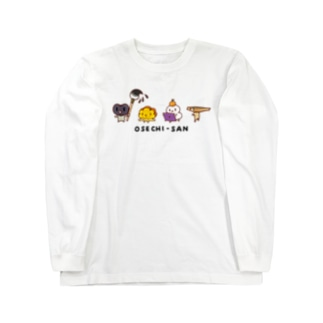 おせちさん Long sleeve T-shirts