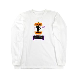 かぼちゃねこ🎃2020 Long sleeve T-shirts