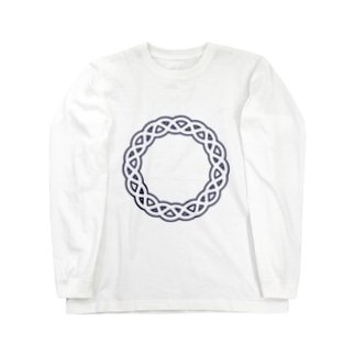 Dominant Yumeno logo 背景透過Ver Long sleeve T-shirts