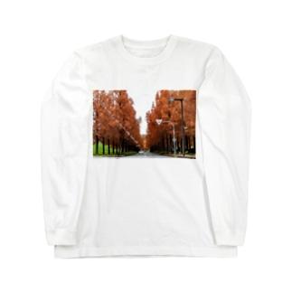 紅葉 Long sleeve T-shirts