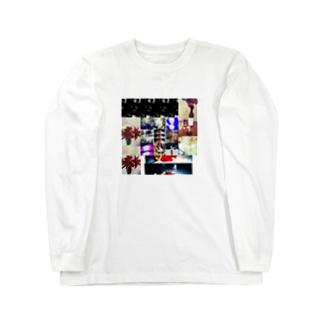 #曼荼羅#欲#通過する像 Long sleeve T-shirts