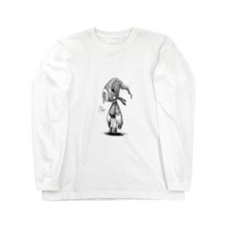 オートマトンパペットC-t Long sleeve T-shirts