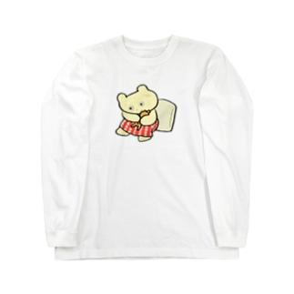 iminonaimojiのもうだめだ Long sleeve T-shirts