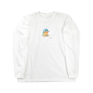 -KAWASEMI No.4- Bird call Long sleeve T-shirts