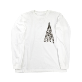 オオコウモリ Long sleeve T-shirts