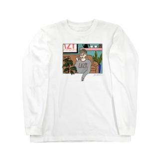 Lazy Long sleeve T-shirts