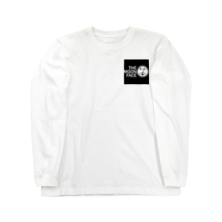 THE MOON FACE Long sleeve T-shirts