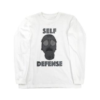 SELF DEFENSE Long sleeve T-shirts