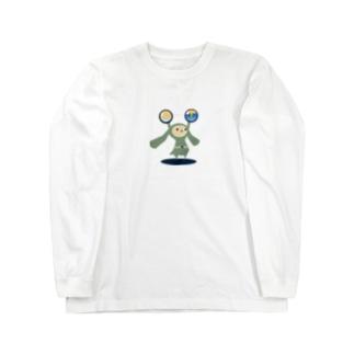 ミミタンと星屑 Long sleeve T-shirts