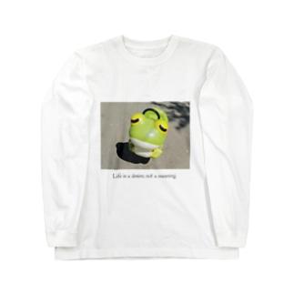 名言Tシャツ Long sleeve T-shirts