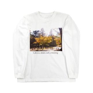 名言Tシャツ② Long sleeve T-shirts