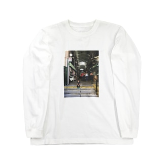 PicT BsAsの街 Janna en San Telmo Long sleeve T-shirts