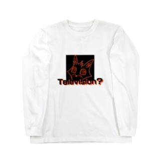 「Television?」 Long sleeve T-shirts