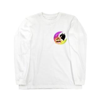 《ハロウィン》05*魔女っ子みけ* Long sleeve T-shirts