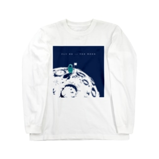 Fly Me to the Moon 02 Long sleeve T-shirts