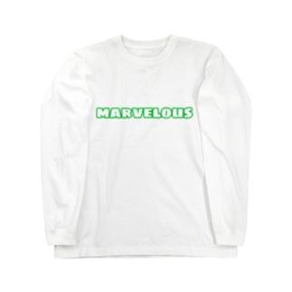 marvelous しんどぅーカラー Long sleeve T-shirts