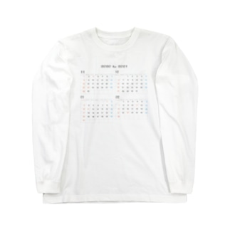 2020 to 2021 年末年始 Long sleeve T-shirts