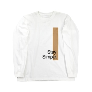 Stay Simple. Long sleeve T-shirts