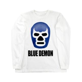 BLUE DEMON / ブルーデモン Long sleeve T-shirts