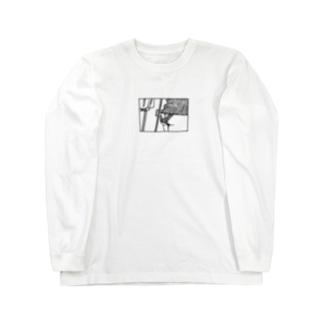おしりむちむち Long sleeve T-shirts