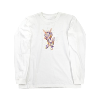 月うさぎ Long sleeve T-shirts