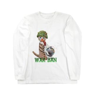 WAR BAN Long sleeve T-shirts