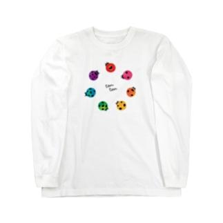 ナナイロテンテン Long sleeve T-shirts