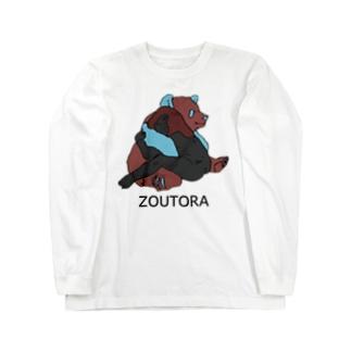 アタシとパンダ Long sleeve T-shirts