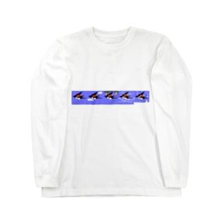 つばめは旅をする Long sleeve T-shirts