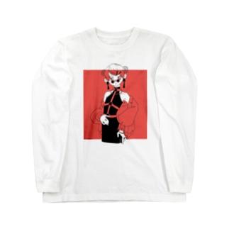 チカチカちかちゃんver3 Long sleeve T-shirts