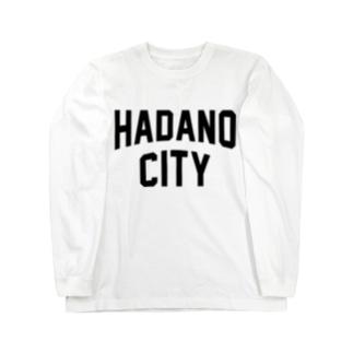 JIMOTO Wear Local Japanの秦野市 HADANO CITY Long sleeve T-shirts