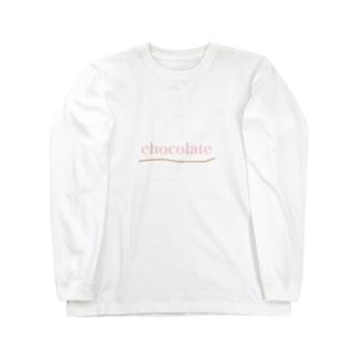 ちょこれーと Long sleeve T-shirts